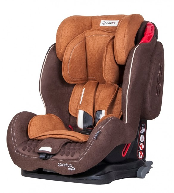 Автокрісло Coletto Sportivo isofix brown