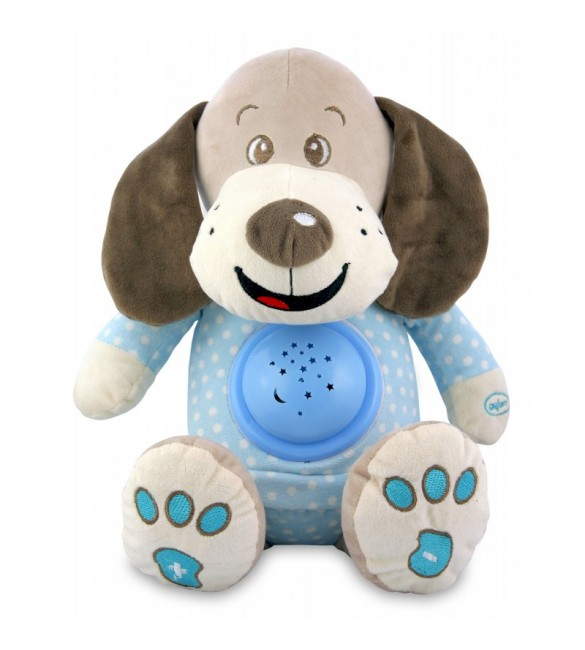 Проектор музичний Baby Mix Nice dog STK-17132 blue