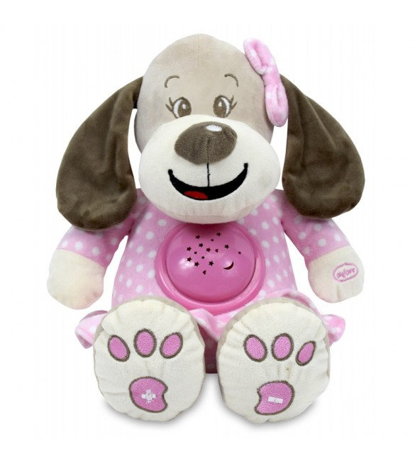 Проектор музичний Baby Mix Nice dog STK-17132 pink