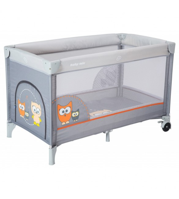Манеж ліжко Baby Mix Sowa HR-8052 172 grey