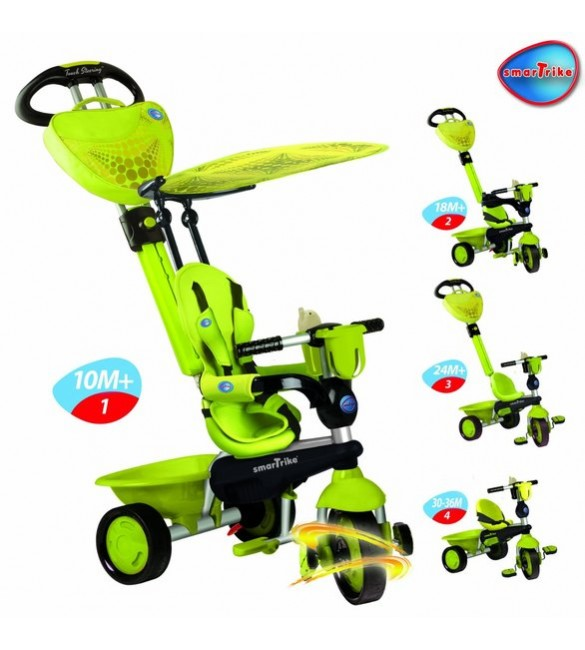 Велосипед Smar trike ALL in ONE 3 зелений